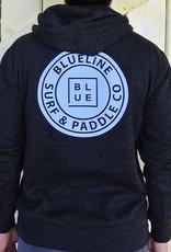 Blueline Surf + Paddle Co. AFX4000 Original PO Hoodie Charcoal\Blue