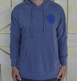 Blueline Surf + Paddle Co. Original Hoodie Slate Blue
