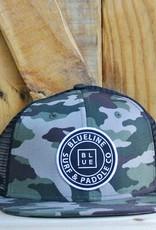 Blueline Surf + Paddle Co. Original Flat Camo\Black
