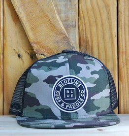 Blueline Surf + Paddle Co. Original Flat Camo\Black