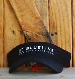 Blueline Surf + Paddle Co. BL Visor Black