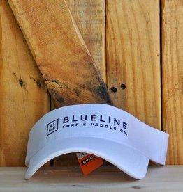 Blueline Surf + Paddle Co. BL Visor White