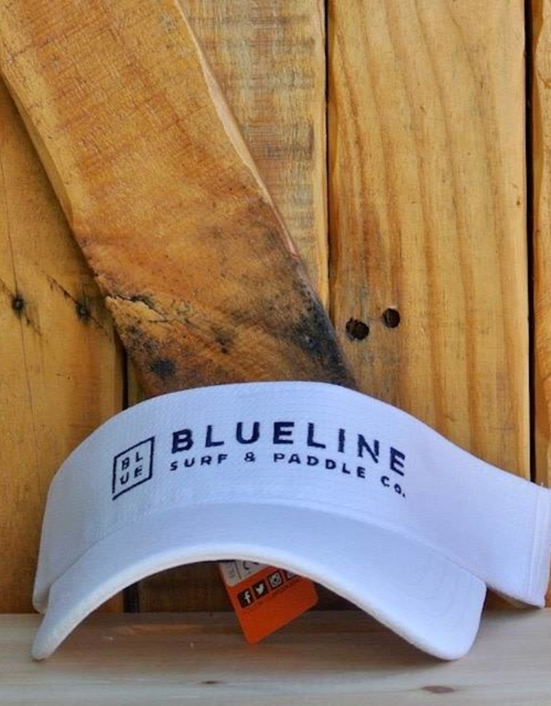 Blueline Surf + Paddle Co. BL Visor White