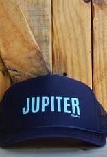 "Blueline Surf + Paddle Co. ""JUPITER"" Trucker Navy\Jade"