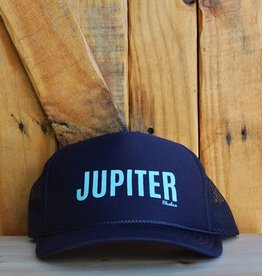 "Blueline Surf + Paddle Co. ""JUPITER"" Trucker Navy\Jade"