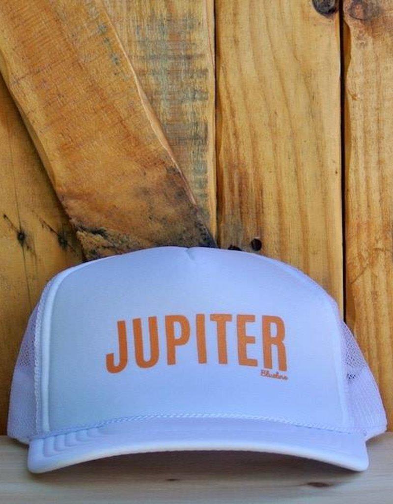 """Blueline Surf + Paddle Co. """"JUPITER"""" Trucker White\Peach"""