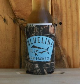 Blueline Surf + Paddle Co. BL Koozie Mahi Badge Camo