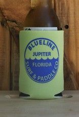Blueline Surf + Paddle Co. BL Koozie Waterline Lime