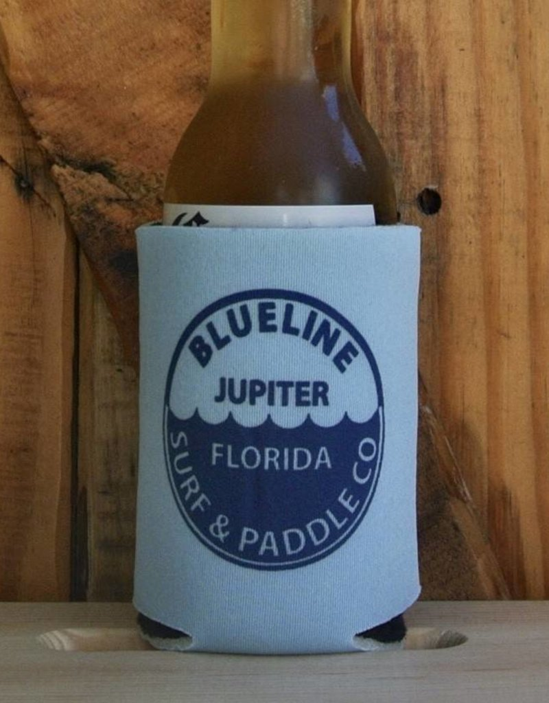 Blueline Surf + Paddle Co. BL Koozie Waterline Light Blue