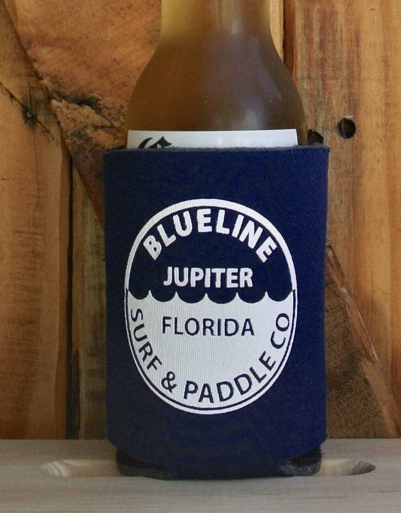 Blueline Surf + Paddle Co. BL Koozie Waterline Navy