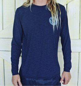 Blueline Surf + Paddle Co. Original UV LS Charcoal\Light Blue