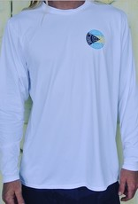 Blueline Surf + Paddle Co. Original UV UPF 30 Long Sleeve Bahamas