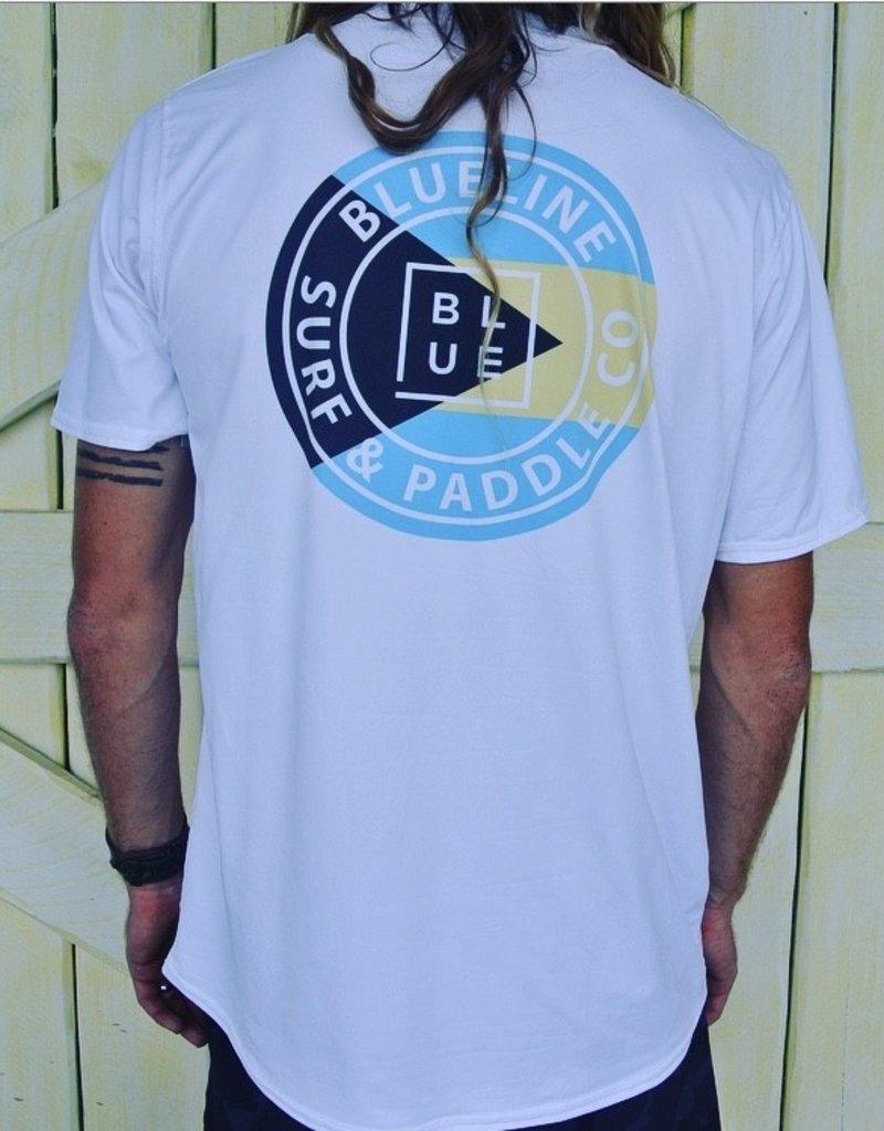 Blueline Surf + Paddle Co. Original UV UPF 30 SS Bahamas