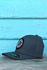 Blueline Surf + Paddle Co. Delta FlexFit Curved Original Charcoal