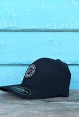 Blueline Surf + Paddle Co. Delta FlexFit Curved Original Navy