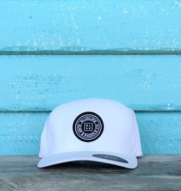 Blueline Surf + Paddle Co. Delta FlexFit Curved Original White