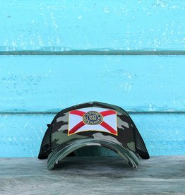 Blueline Surf + Paddle Co. Curved Florida Flag Camo\Black