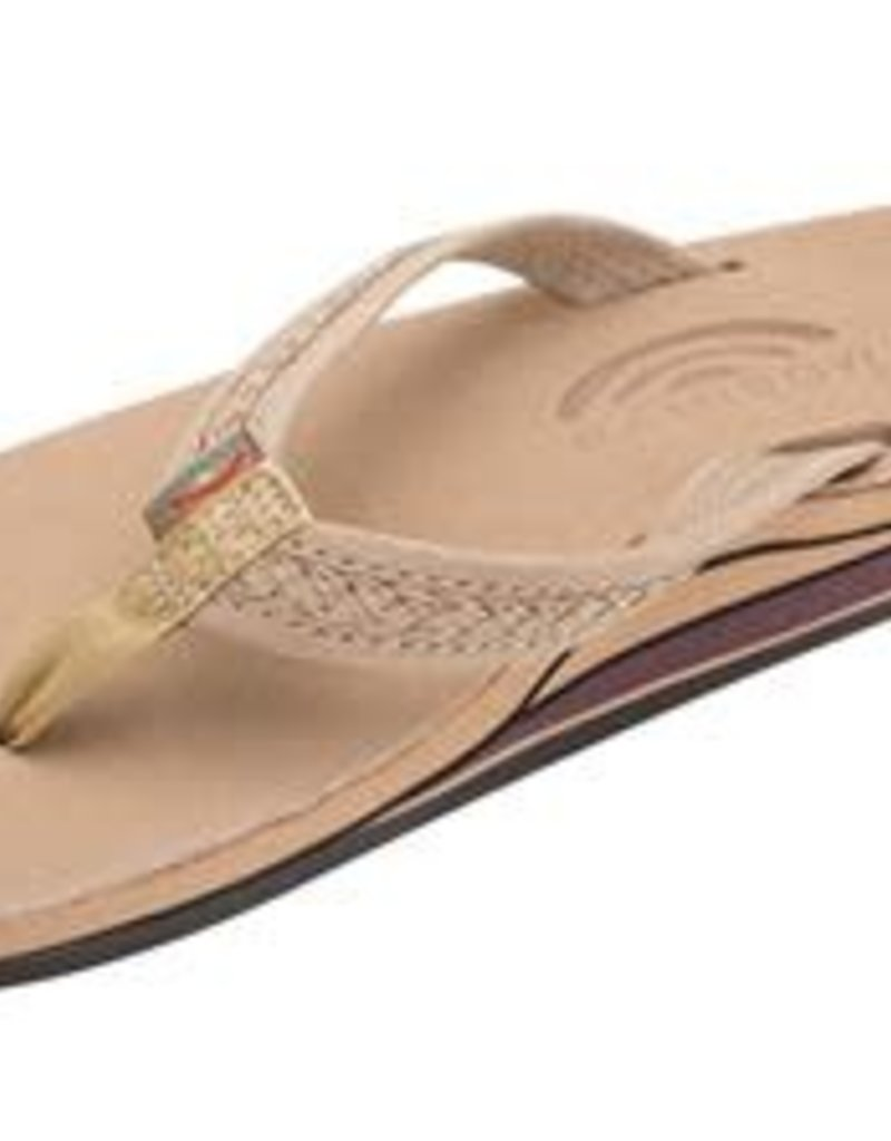 Rainbow Sandals Willow Double Layer Braided Sierra Brown
