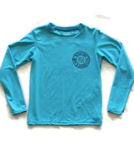 Blueline Surf + Paddle Co. Youth Original UV LS Ocean