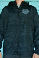Blueline Surf + Paddle Co. Original Lightweight Windbreaker Black Camo