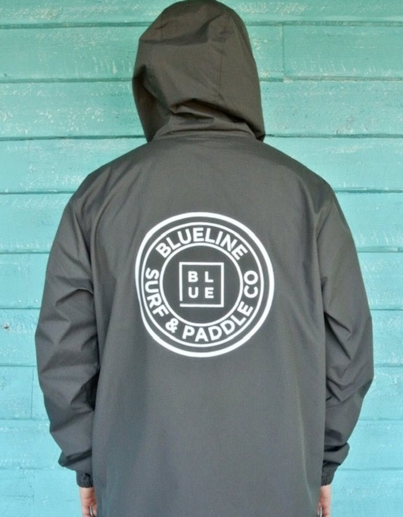 Blueline Surf + Paddle Co. Original Windbreaker Graphite