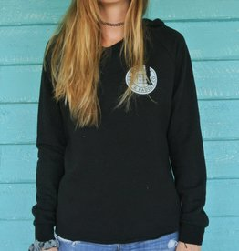 Blueline Surf + Paddle Co. Original Hoodie Black