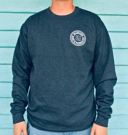 Blueline Surf + Paddle Co. Original Raglan Crew Navy
