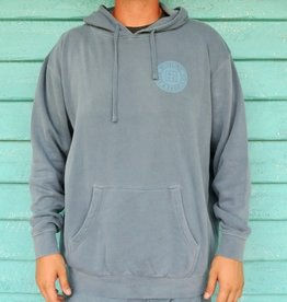 Blueline Surf + Paddle Co. Original Pullover Hoodie Slate Blue