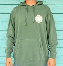 Blueline Surf + Paddle Co. Original Pullover Hoodie Alpine Green\White