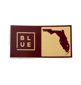 Blueline Surf + Paddle Co. Blueline Team Florida Box Sticker FSU Seminoles