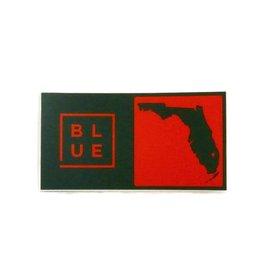 Blueline Surf + Paddle Co. Blueline Team Florida Box Sticker Miami Hurricanes