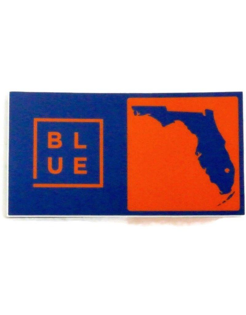 Blueline Surf + Paddle Co. Blueline Team Florida Box Sticker UF Florida Gators