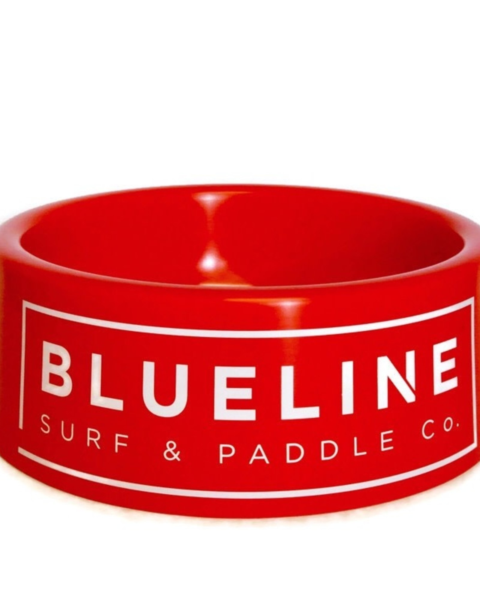 Blueline Surf + Paddle Co. Blueline Dog Bowl Red