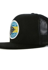 Blueline Surf + Paddle Co. Original Flat Bahamas Black\Black