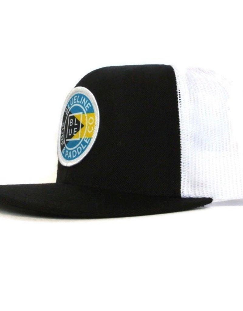 Blueline Surf + Paddle Co. Origina Flat Bahamas Black\White