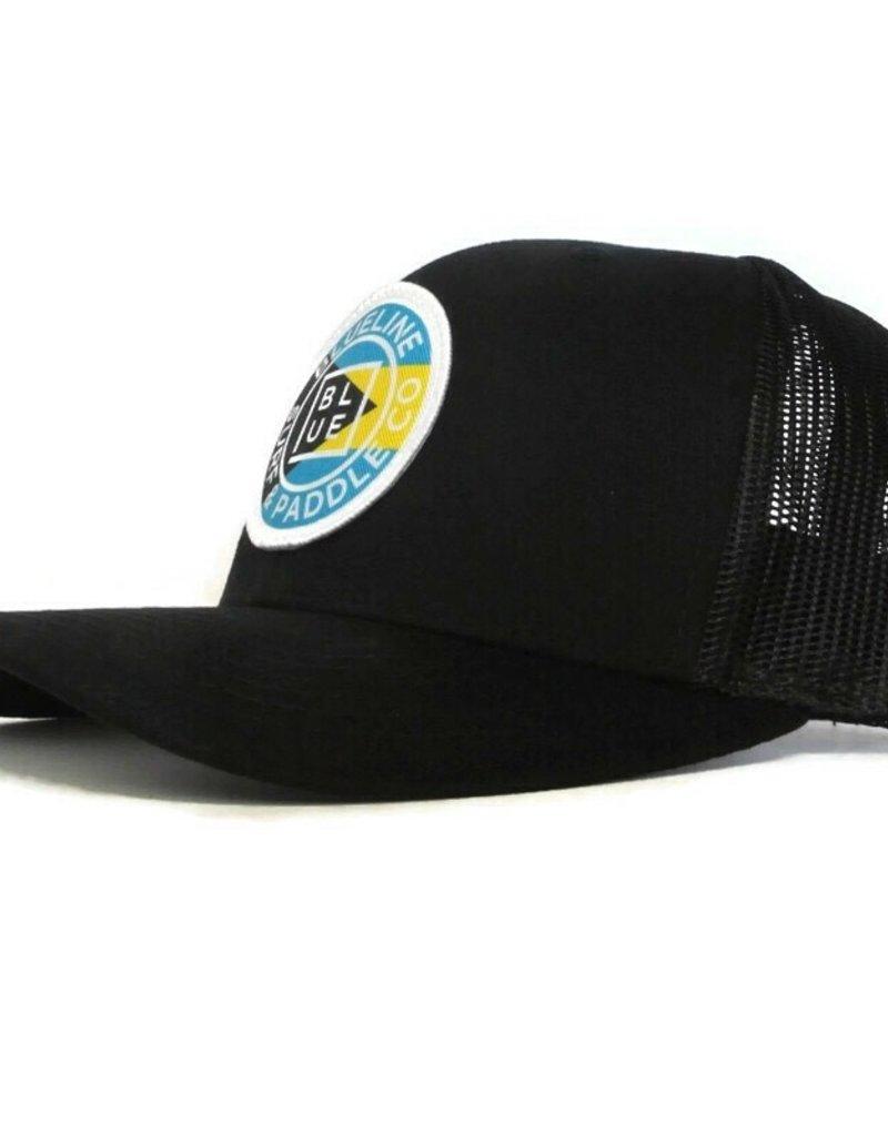 Blueline Surf + Paddle Co. Curved Original Bahamas Black\Black