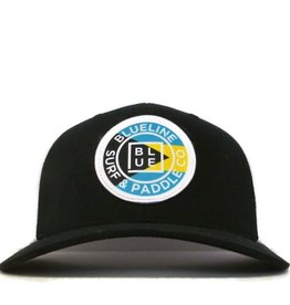 Blueline Surf + Paddle Co. Curved Original Bahamas Black\White