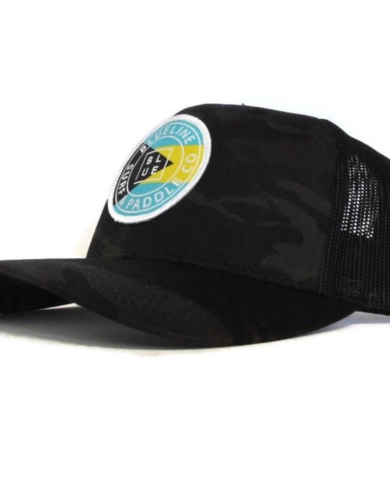 Blueline Surf + Paddle Co. Original Curved Bahamas Multi Camo