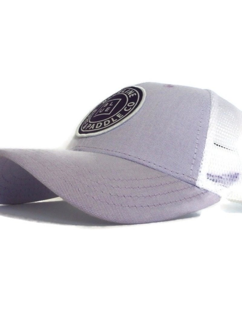 Blueline Surf + Paddle Co. Curved Original Lilac Oxford\White