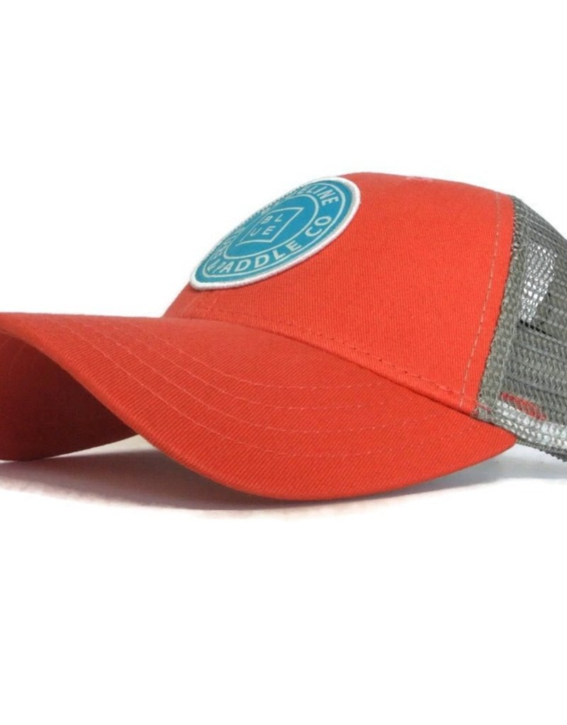Blueline Surf + Paddle Co. Original Curved Mango\Steel\Aqua