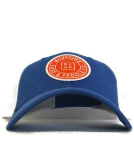 Blueline Surf + Paddle Co. Original Curved Royal\White\Orange