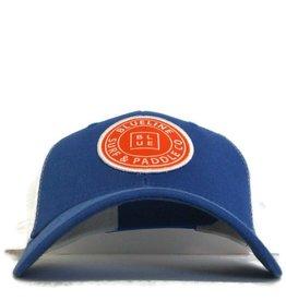 Blueline Surf + Paddle Co. Original Curved Royal\White\Orange