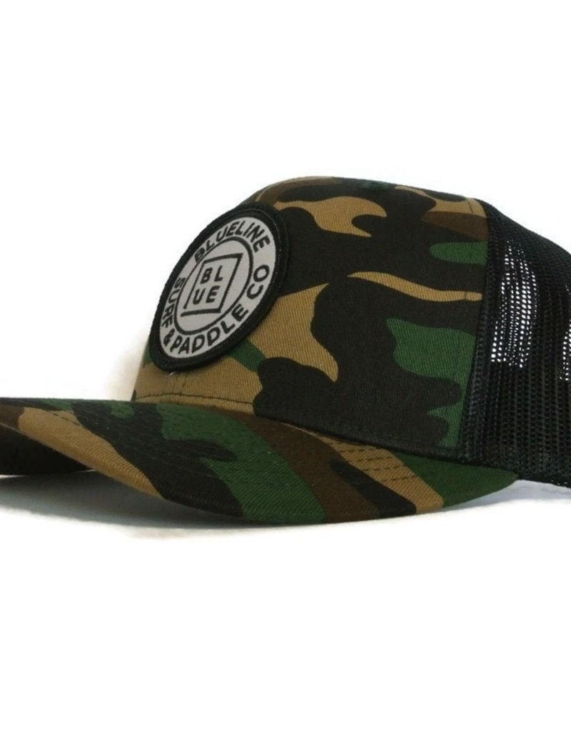 Blueline Surf + Paddle Co. Curved Original Camo\Black
