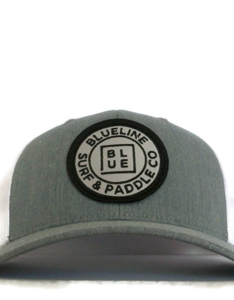 Blueline Surf + Paddle Co. Curved Original Heather Gray\White