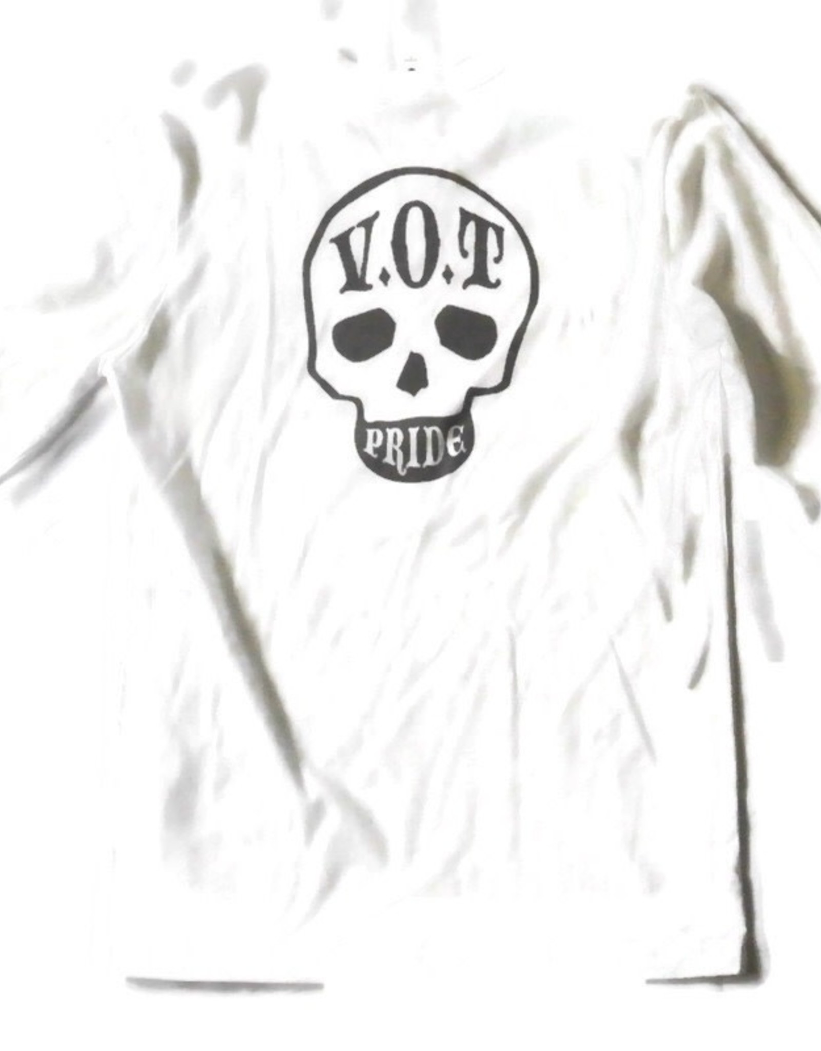 V.O.T. PRIDE V.O.T. Pride Long Sleeve WHITE\DARK GRAY