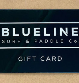 Blueline Surf + Paddle Co. $40 Gift Card
