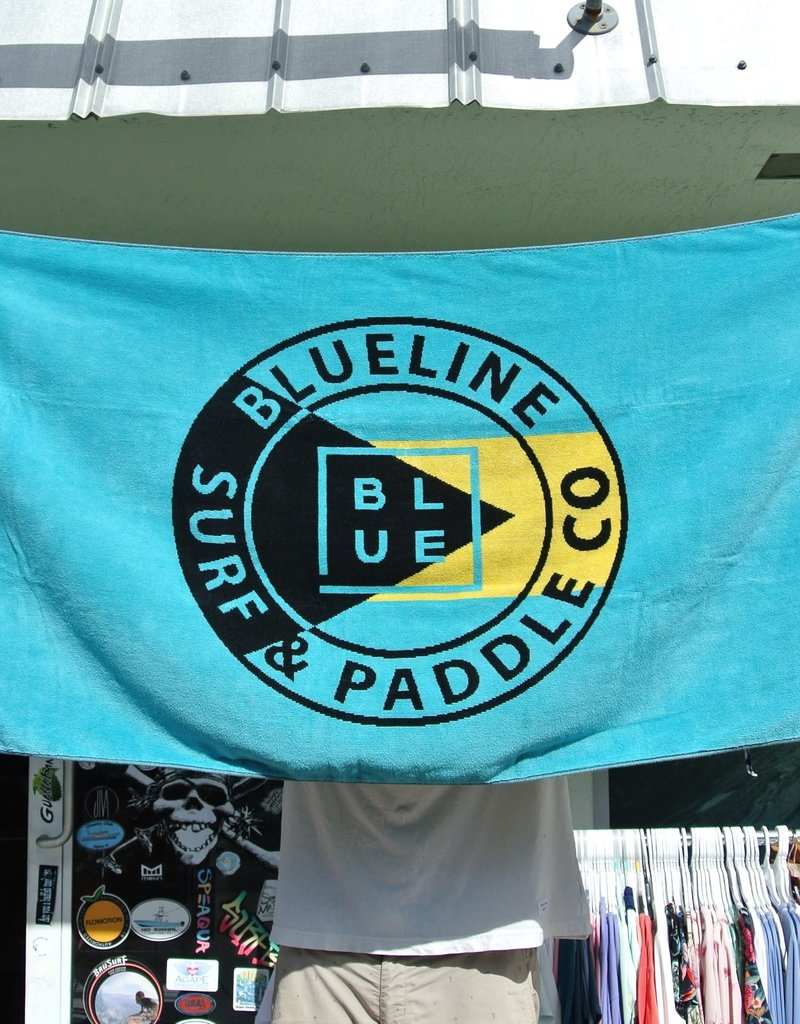 "Blueline Surf + Paddle Co. Blueline Bahamas Towel 30"" x 60"""