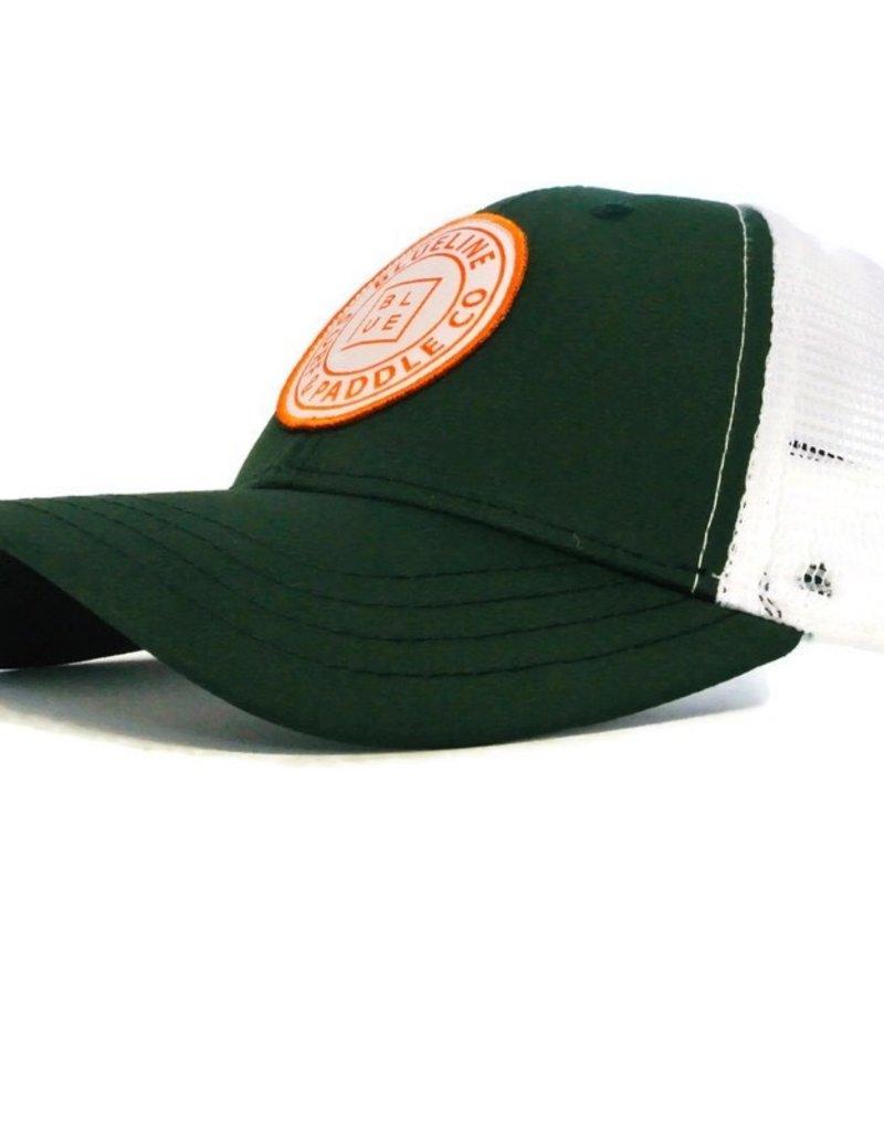 Blueline Surf + Paddle Co. Original Curved Green\White\Orange