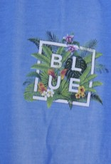 Blueline Surf + Paddle Co. Floral Box Royal Heather