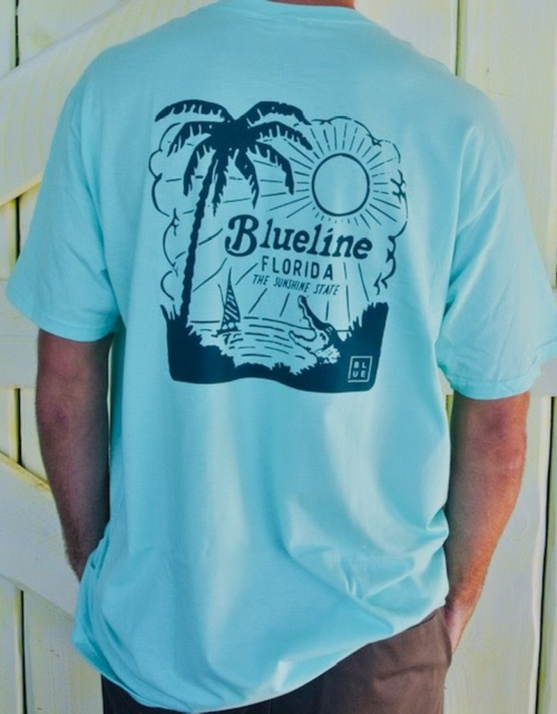 Blueline Surf + Paddle Co. Sunshine State Mint\Navy
